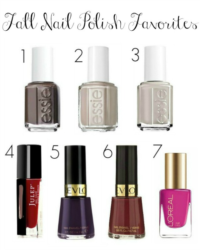 Fall Nail Polish Favorites - Heather Bien