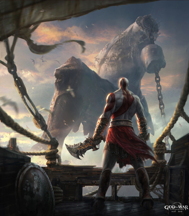 The Art Of Cliff Childs God Of War Ascension Concepts
