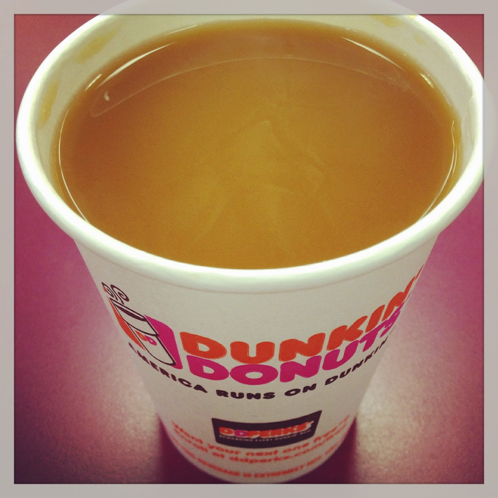 Vegan Dunkin Donuts Coffee with Almond Milk