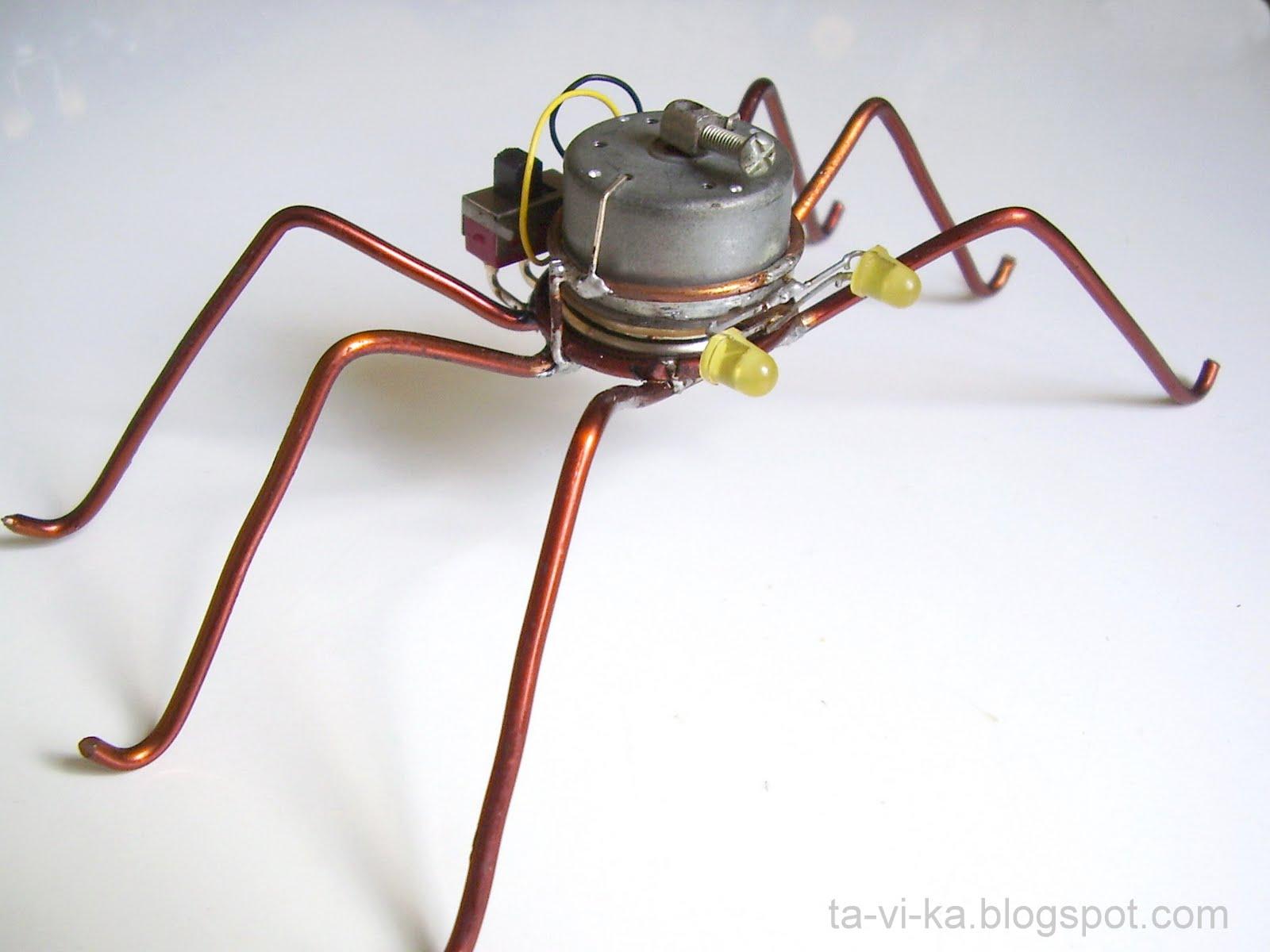 Простейшие робота своими руками фото 541