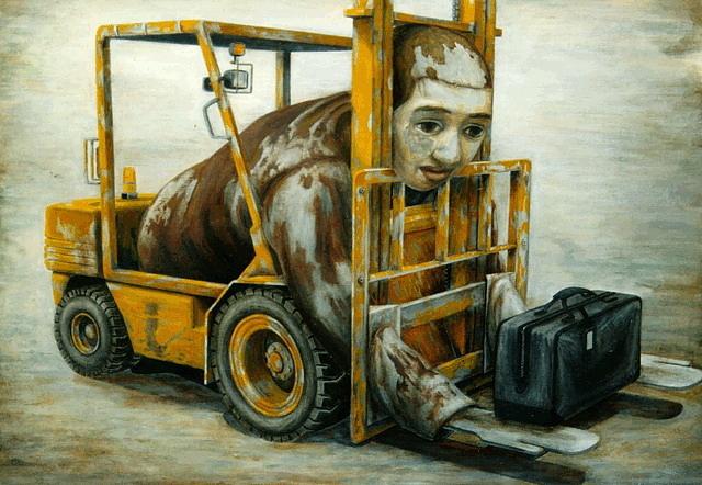 © Tetsuya Ishida 石田徹也 - Pintura | Painting