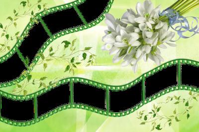 marco para fotos floreado