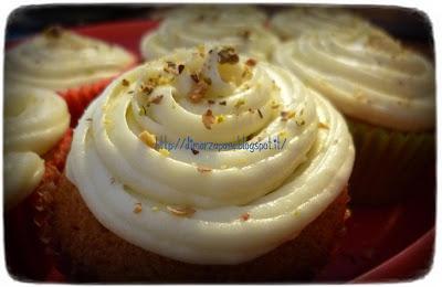 cupcake alla crema di pistacchio