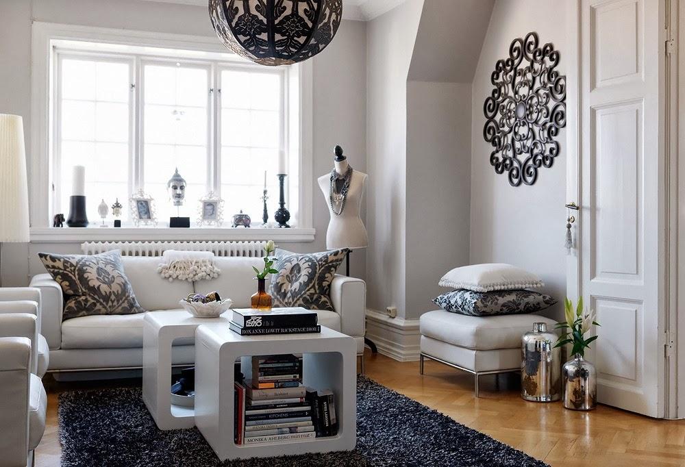 blog achados de decora o apartamento decorado combinar. Black Bedroom Furniture Sets. Home Design Ideas