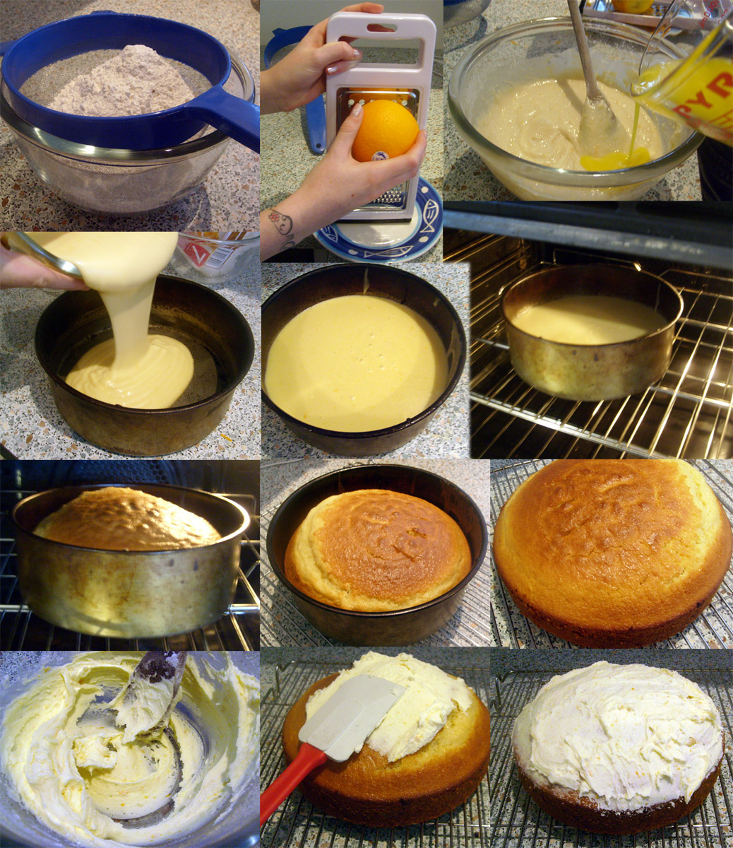 Process essay on how to bake a cake - our work The Process of Cake ...