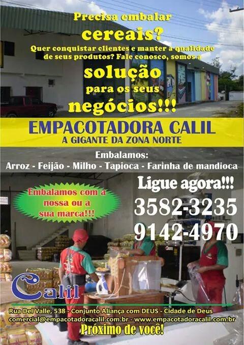 EMPACOTADORA                     CALIL