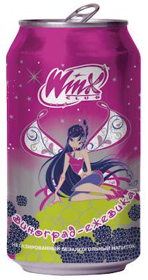 Negazuoti Winx Club believix gėrimai Rusijoje Flora