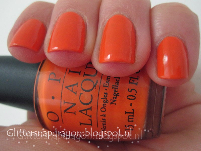 OPI Tangerine Scene