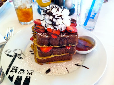 Serendipity 3 Frozen Hot Chocolate French Toast