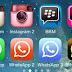 تكرار التطبيقات الاجتماعية للايفون والايباد و بروابط مباشرة