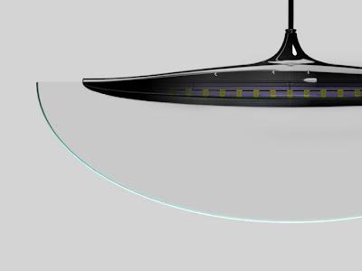 Manta LED Sarkıt Yandan Görünüş