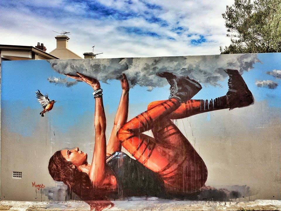 Fintan magee new street art mural sydney australia for Call for mural artists 2014