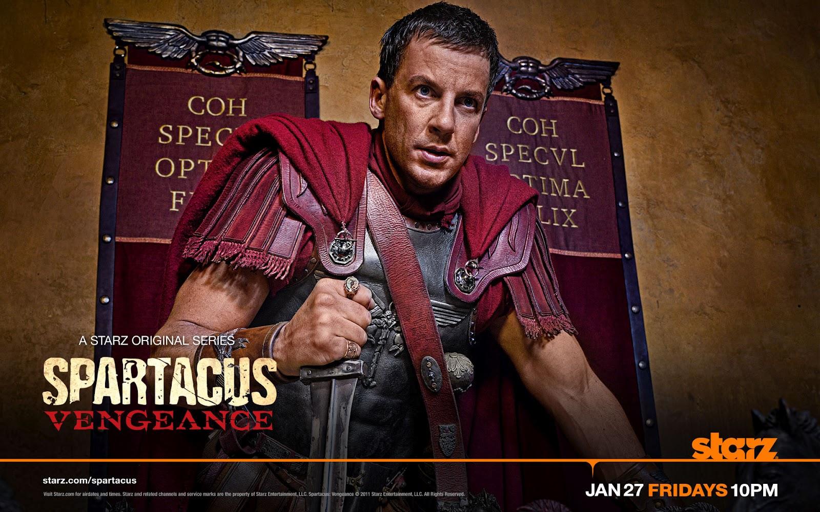 A MÍ ME DA MIEDO: Spartacus Vengeance