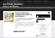 blog directory of Les Private