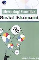 AJIBAYUSTORE Judul Buku : Metodologi Penelitian Sosial Ekonomi Pengarang : Ir. I Made Wirartha, M.Si. Penerbit : Andi