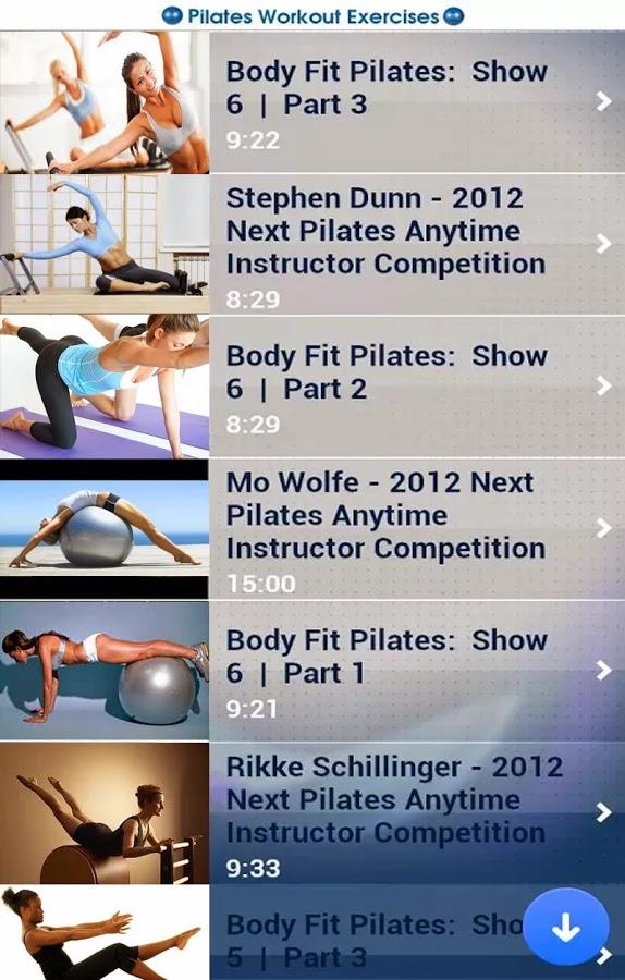 Pilates Ejercicios gratis para android