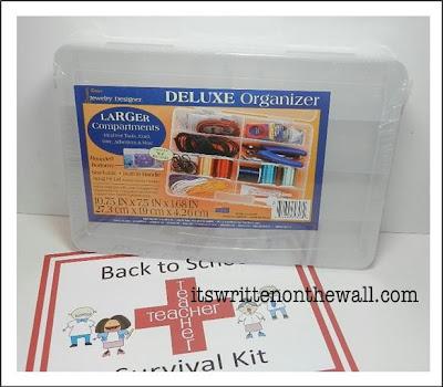 Freebie) Back to School Teacher Survival Kit (Teacher Appreciation ...