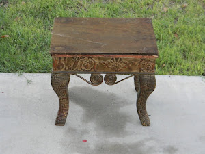 Unique Footstool  *SOLD*