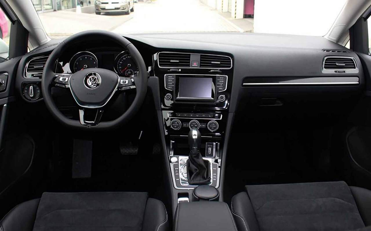 Volksgagen Golf 7 2015 Interior