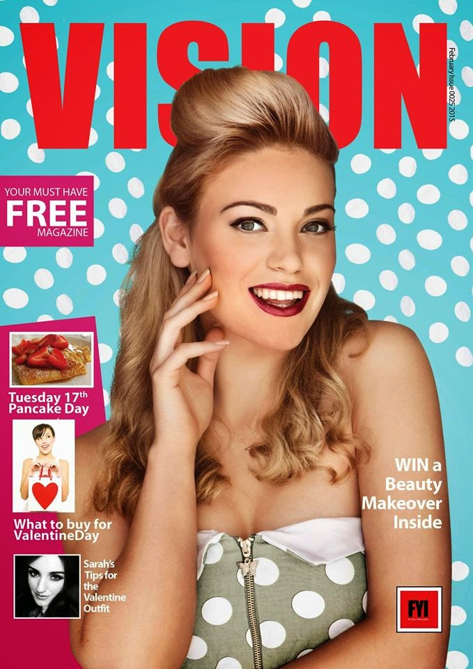 FASHION AND BEAUTY WRITER FOR VISION MAGAZINE