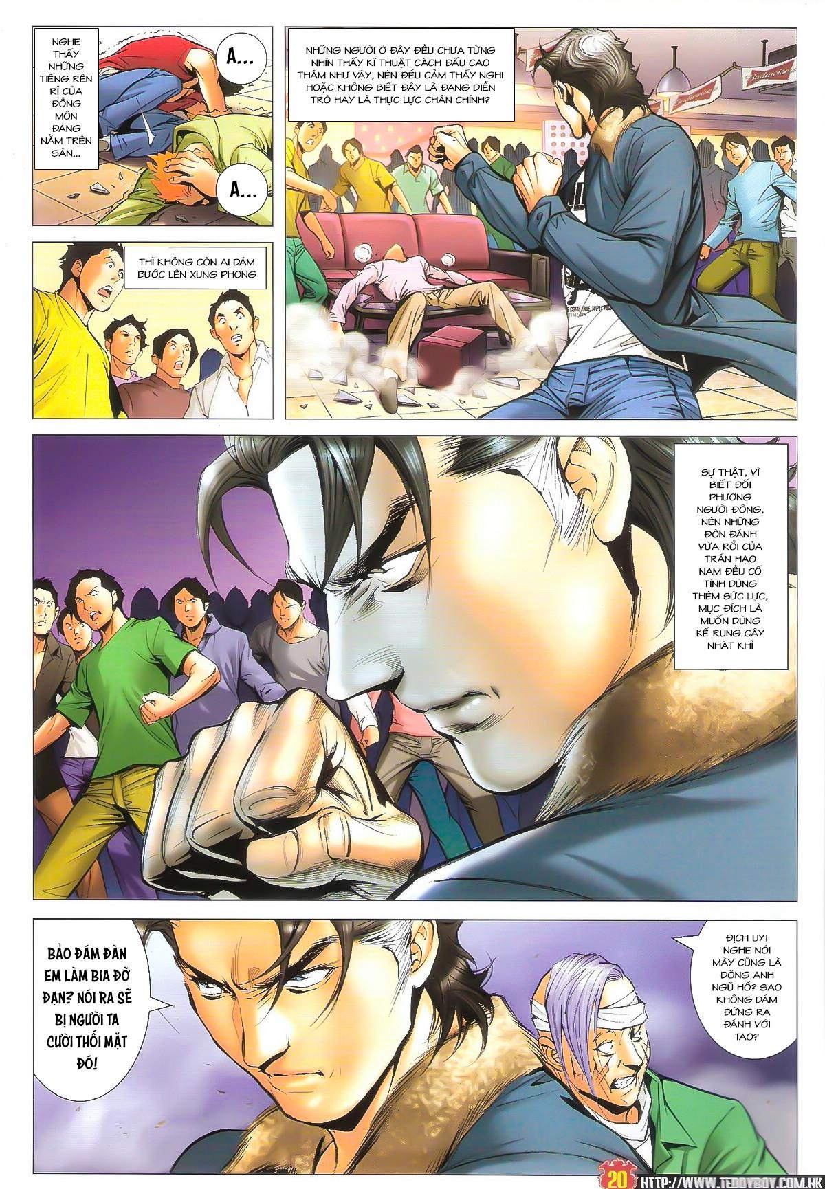 Người Trong Giang Hồ NetTruyen chap 1598 - Trang 16