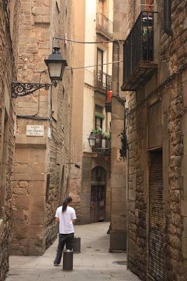 Marlet street in Barcelona