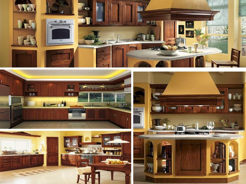 home decor luxurious brown kitchens with amazing yellow touches