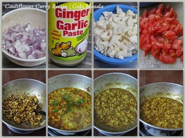 Cauliflower - Gobi Masala