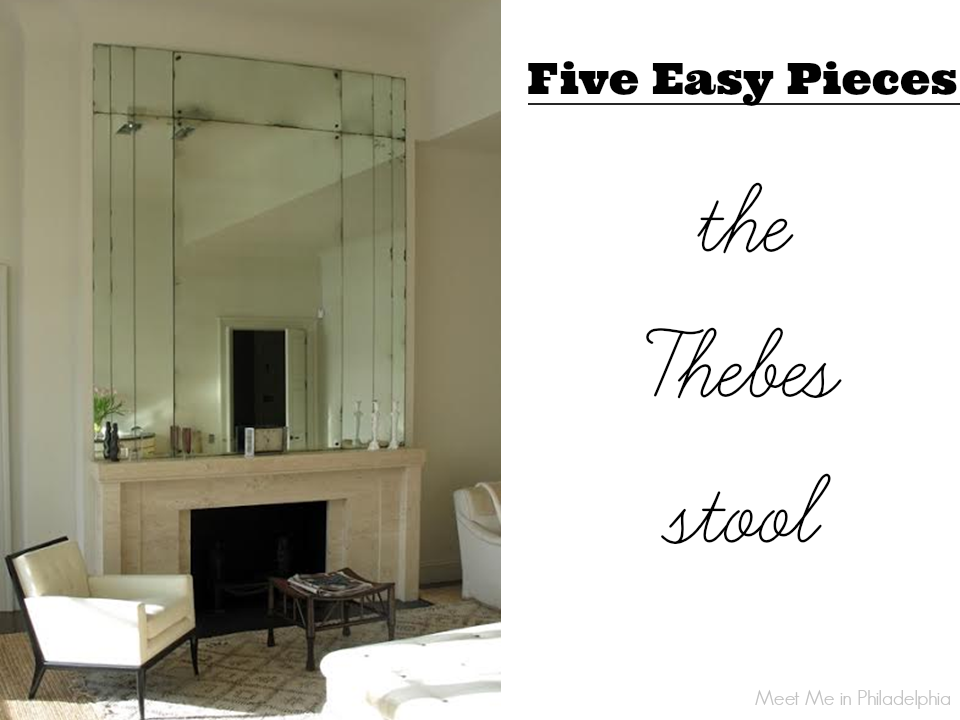 five easy pieces_the thebes stool via Meet Me in Philadelphia