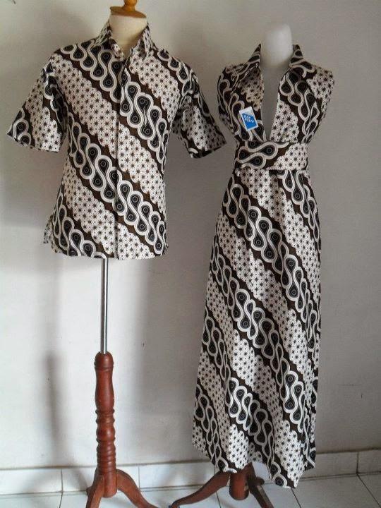 Foto model baju batik sarimbit couple terbaru