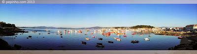 Muelle de O Xufre (A Illa de Arousa)
