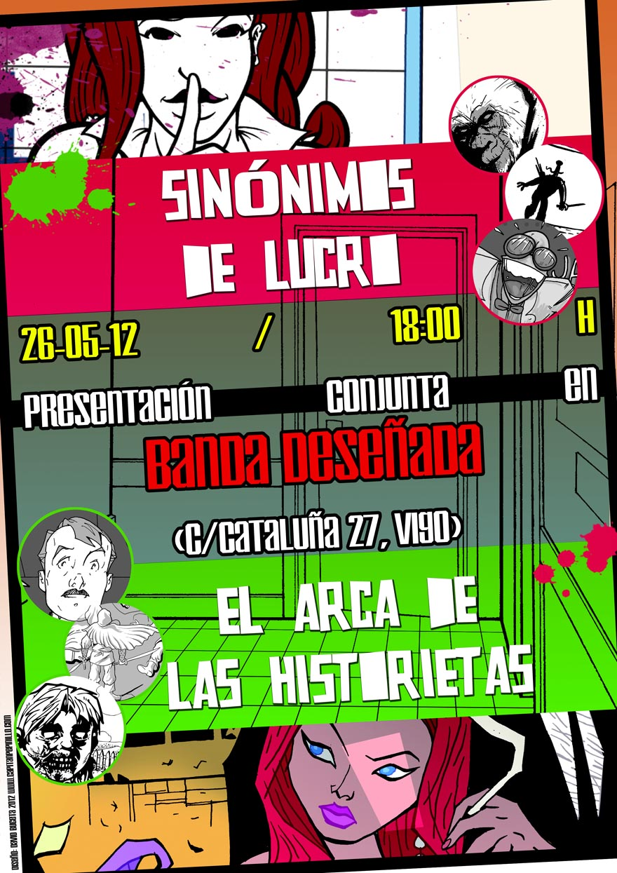 Armario Mdf Provençal ~ BANDA DESE u00d1ADA COMICS librería Presentación Sinónimos de Lucro El Arca de las historietas