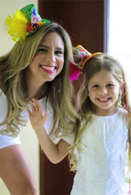 enfeite de cabeça Cartolinha feminino adulto e criança Coleção Carnaval 2014 Juana Moura