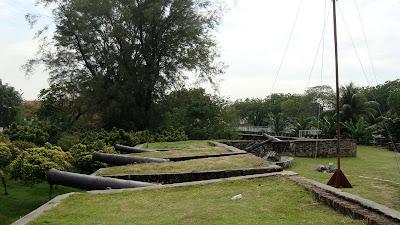 (Malaysia) - Penang - Fort Cornwallis