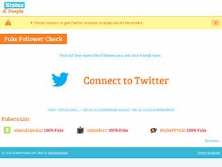 La compañía StatusPeople ha creado una nueva herramienta que muestra cómo muchos de nuestros codiciados seguidores de Twitter son en realidad spam. La sencilla interfaz rápidamente pone de manifiesto cuál es el porcentaje de los seguidores de tu cuenta de Twitter que son «falsos», «inactivos» o «buenos». StatusPeople indica en su sitio web que las cuentas falsas típicas tienden a tener pocos seguidores o tweets, pero a menudo siguen a cientos de personas. ¿Una «cuenta falsa» importa? Una reciente encuesta mundial a 600 periodistas arrojó que el 55% usaTwitter y Facebook en busca de historias y de fuentes. Los políticos