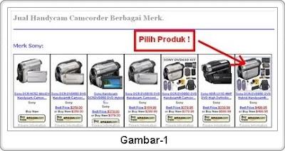 Klik gambar produk yang Anda ingin beli. Dan jika Anda memilih ...