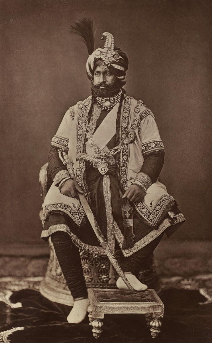 Maharaja of Jammu and Kashmir Ranbir Singh - 1877