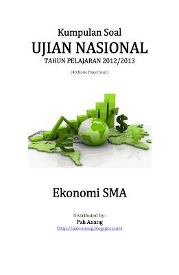 Kumpulan Soal Un Ekonomi Sma 2013 (43 Paket Soal)