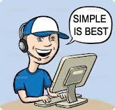 write simple