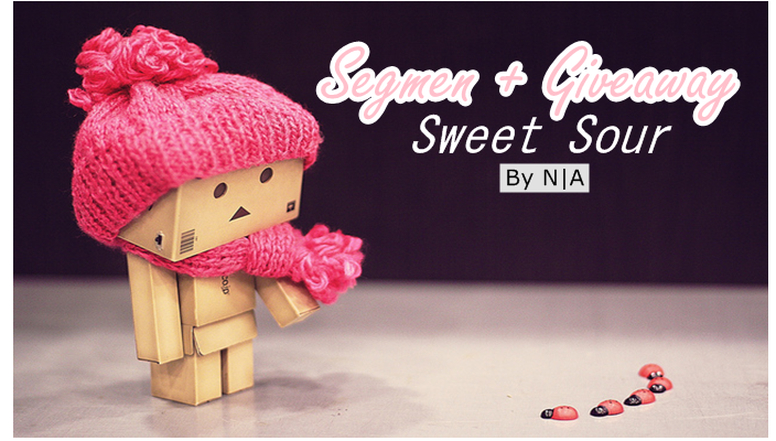 Segmen + Giveaway Sweet Sour by N|A