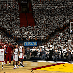 NBA 2K14 Miami Heat Playoffs Crowd Mod