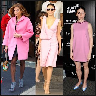 pink inspiration celebrities