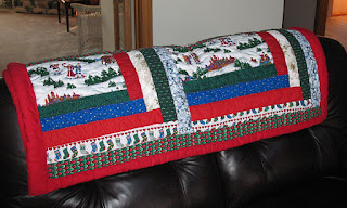 Mike &amp; Dee Christmas Quilt