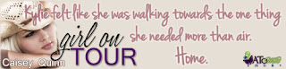 Book blitz : Girl on Tour by Caisey Quinn