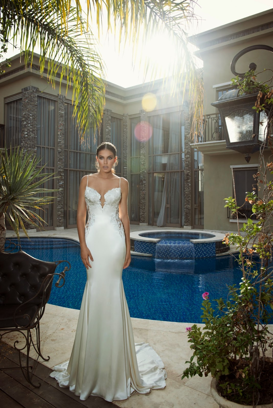 Saffron wedding dress by Galia Lahav, the Empress Collection