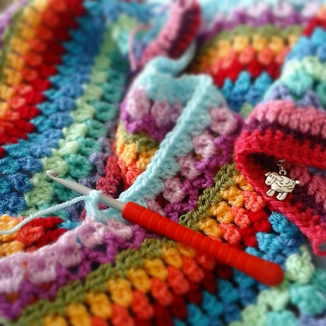 Tooty Stripey Blanket