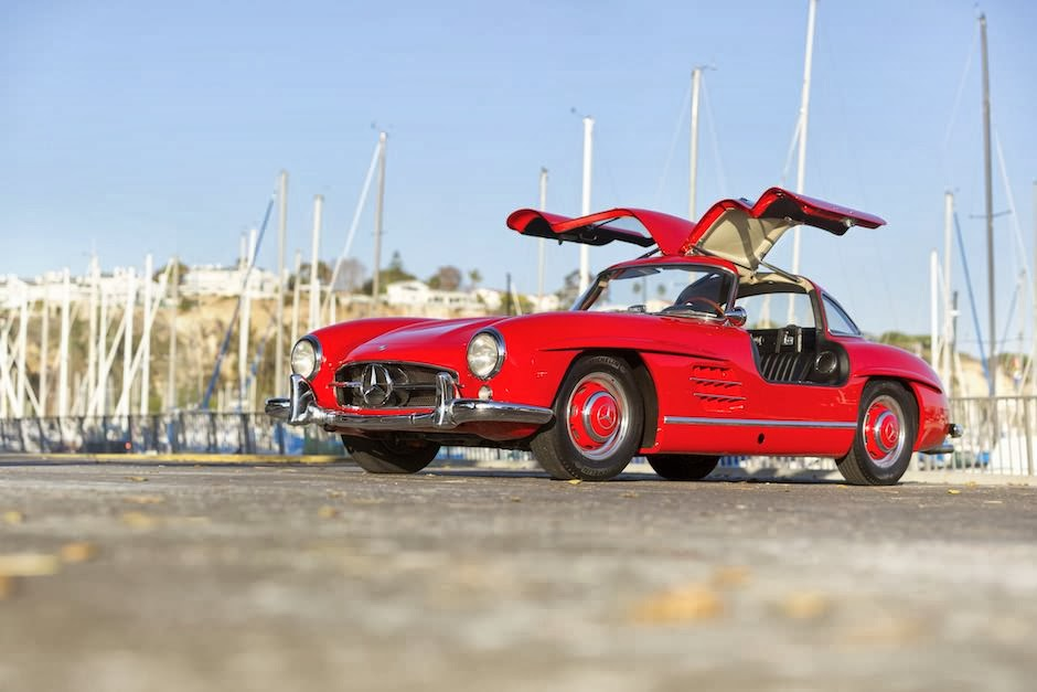 Wonderful 1955 mercedes benz 300sl gullwing auto for Mercedes benz gullwing 1955
