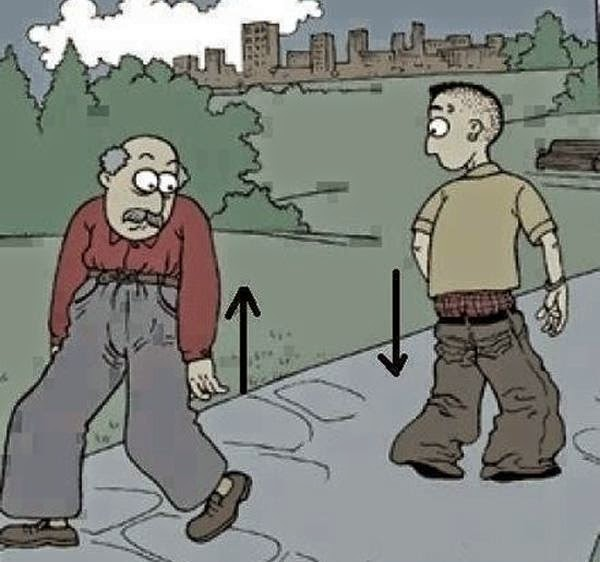 Funny Picture of Generation Gap