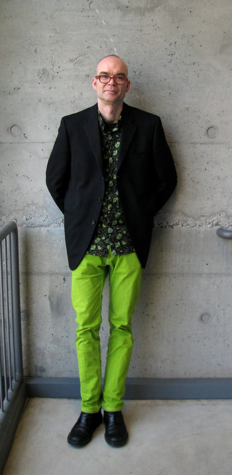 Forest City Fashionista: Matt and His Pants of Many Colours