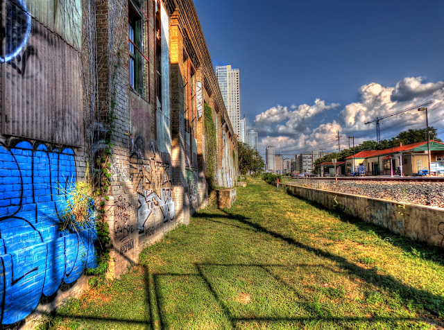 Abandoned Railway Warehouse - Downtown Austin - E